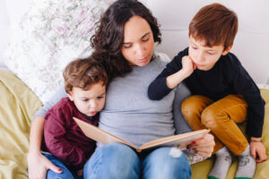 lectura in familie