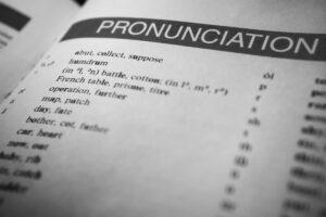pronuntia literelor in engleza